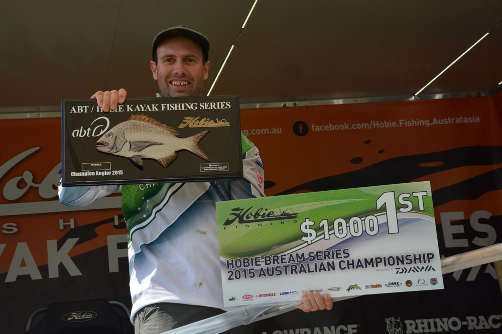 2015 Hobie Kayak Bream Series Australian Championship. Day 2 Results.