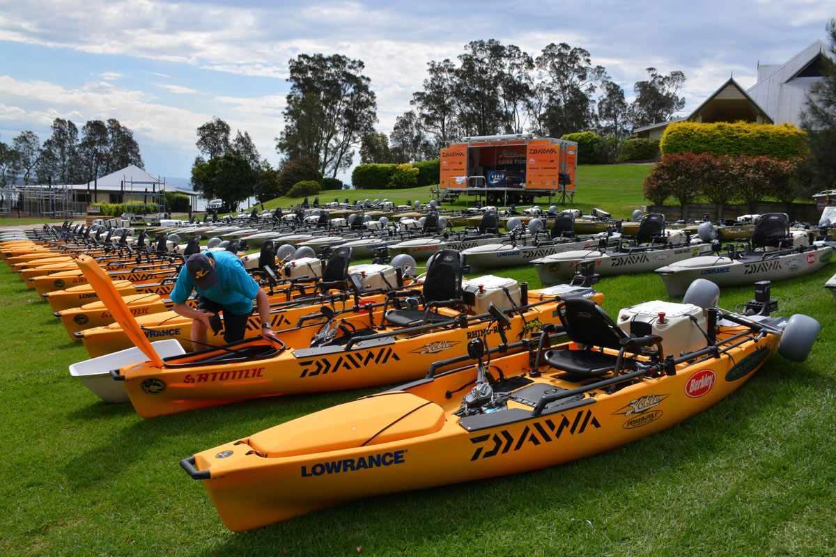 Gallery: Setting up the 2015 Australian Championship