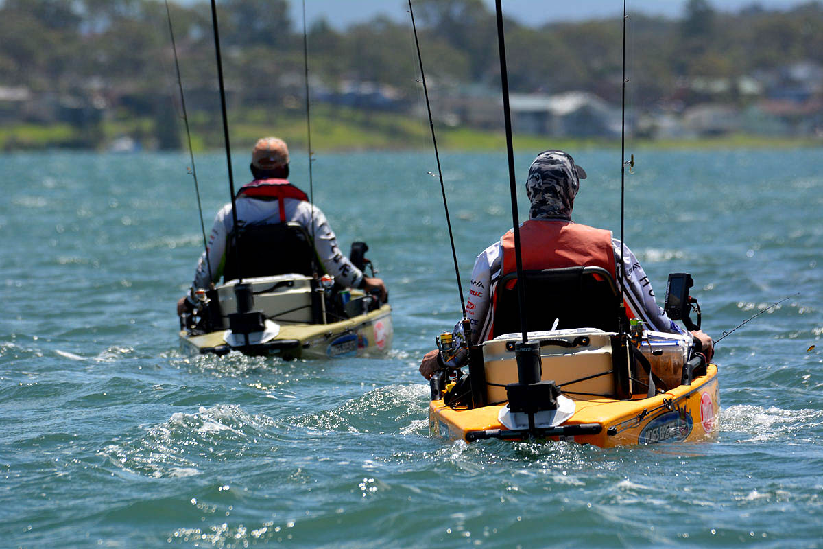 The 2015 Hobie® Kayak Bream Australian Championship Begins!