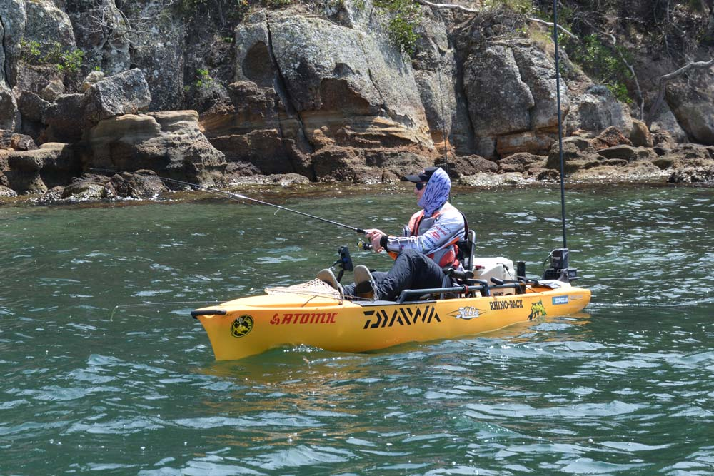 2015 Hobie Kayak Bream Series Australian Championship. Day 1 Results.