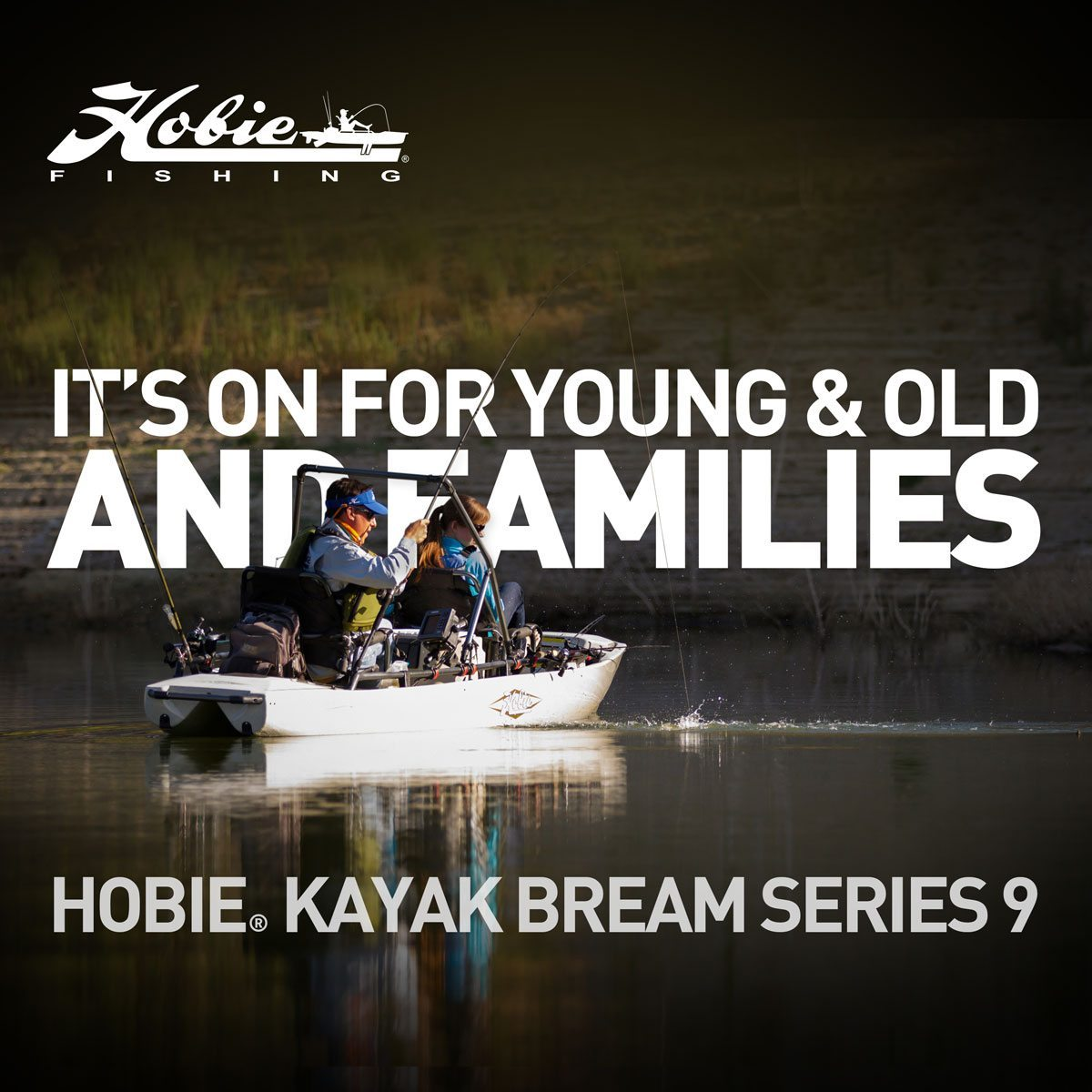 youngandold - Hobie Kayak Fishing Series