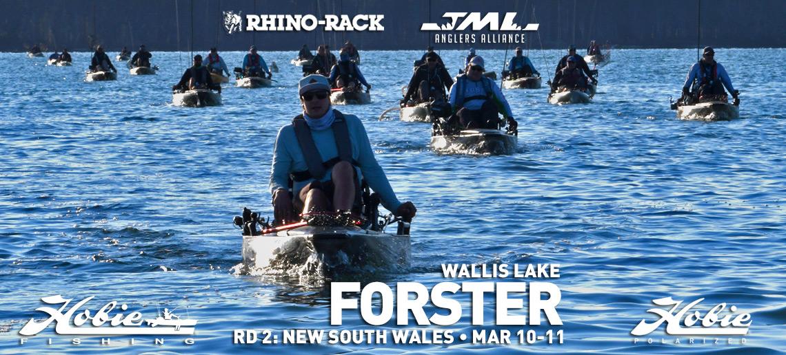 Rhino-Rack, JML, & Hobie® Polarized Round 2. Forster, NSW.