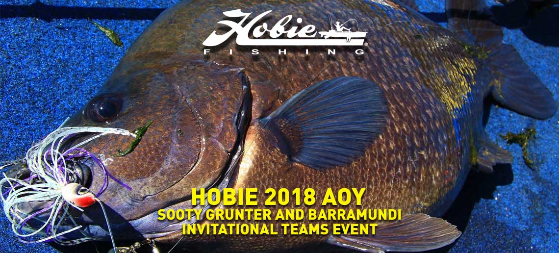 Hobie® AOY Sooty Grunter & Barramundi Invitational Teams Event 2018