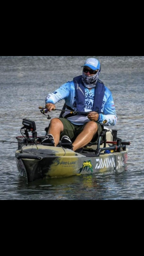 hobie bream angler michael walker