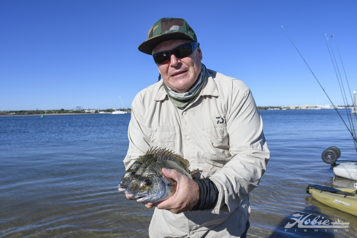 hobie bream angler warren cossell