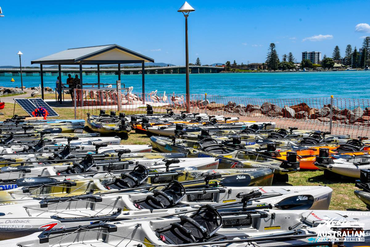 Hobie Kayak Bream Series 10 Australian Championship Set Up