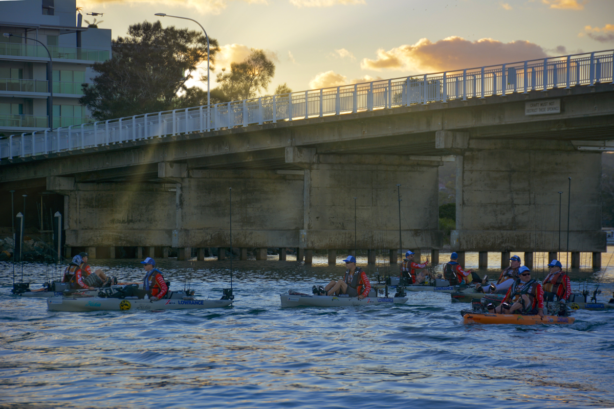 Hobie Kayak Bream Series 10 Australian Championship  Day One