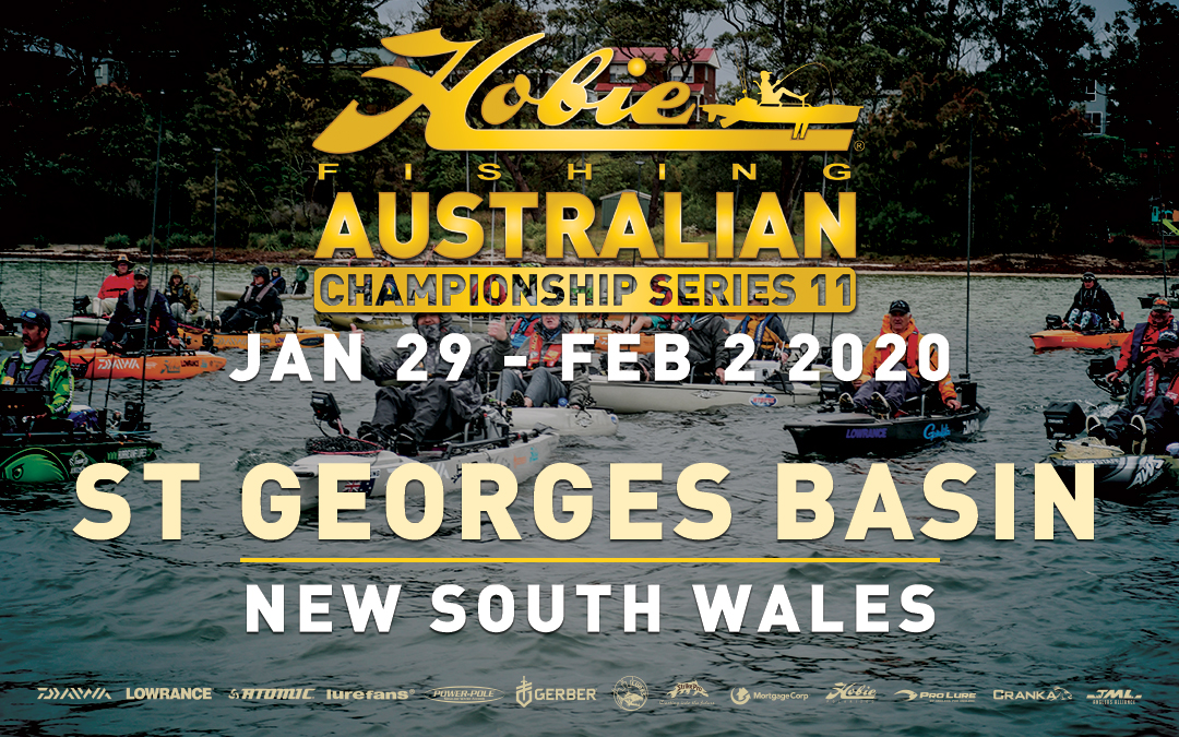 Hobie® Kayak Bream Series 11 Australian Championship – St Georges Basin, NSW