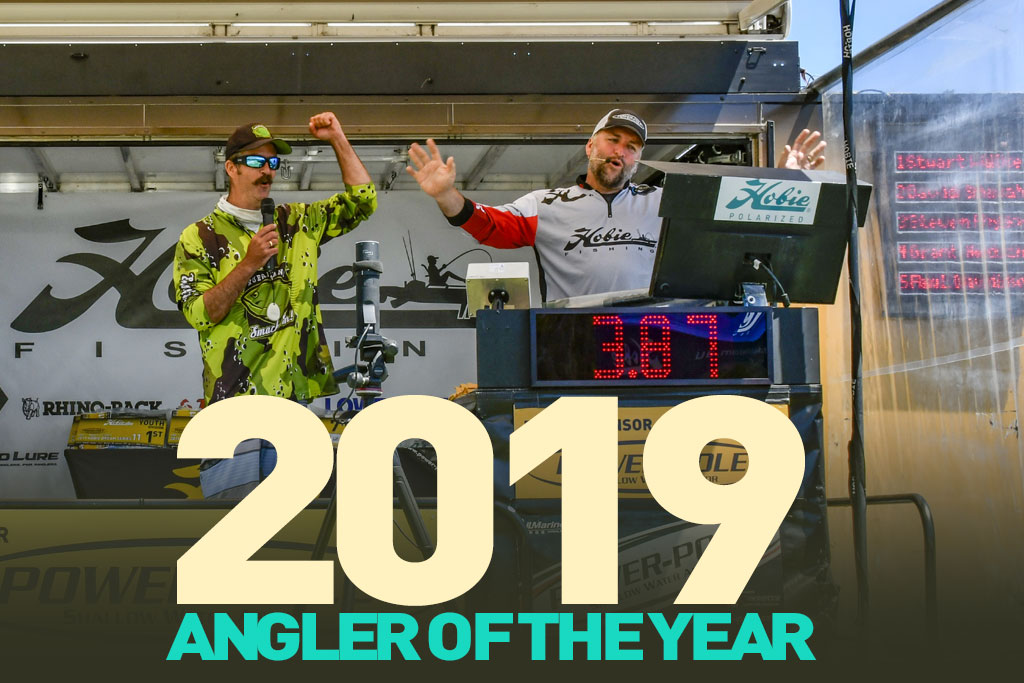 hobie kayak bream fishing 2019 angler of the year