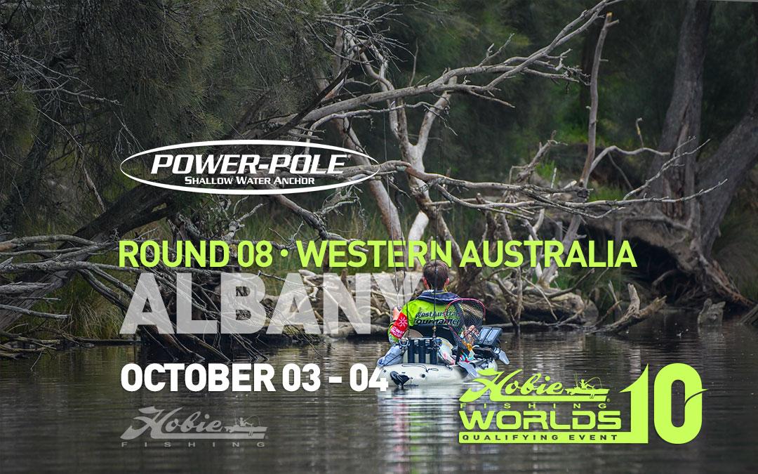 Power-Pole Round 8. Albany, Western Australia 2020