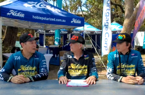Day 1 Angler Interview with Anglers Cullen Francis