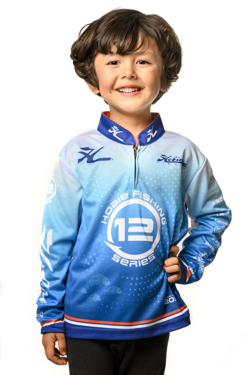 SERIES 12 HOBIE KAYAK FISHING CHILD JERSEY
