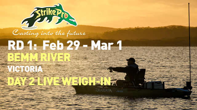 BEMM RIVER DAY 2 LIVE WEIGH-IN