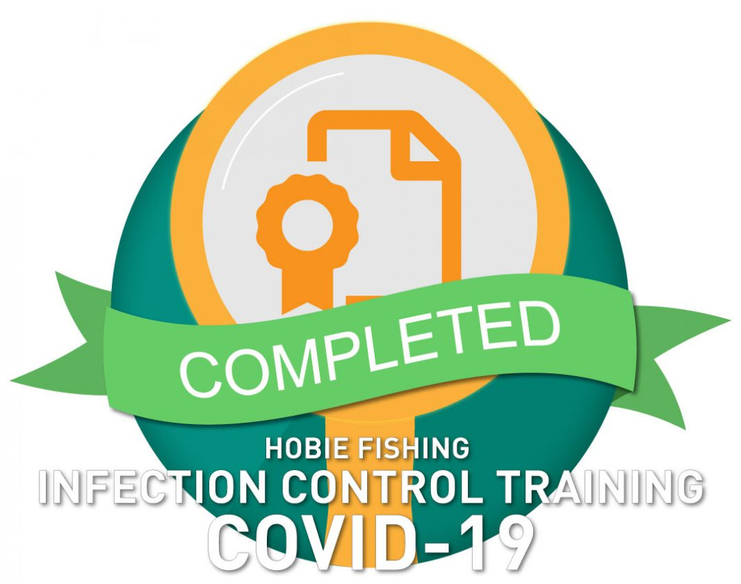 INFECTION CONTROL TRAINING – COVID 19 CERTIFICATES OF ACKNOWLEDGEMENT