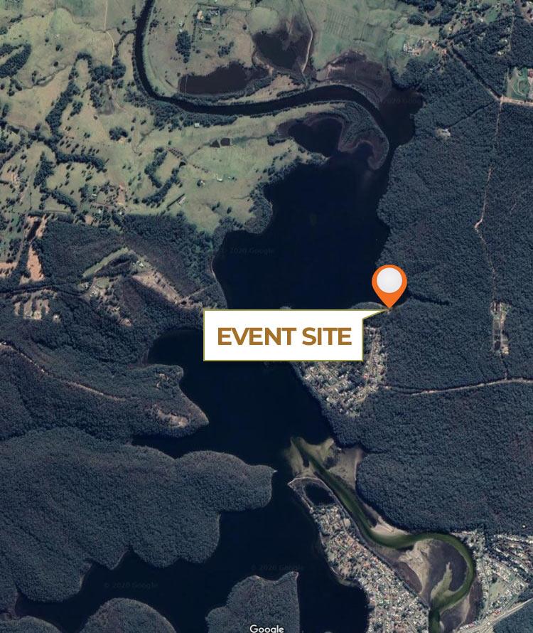 burrill lake hobie fishing event site