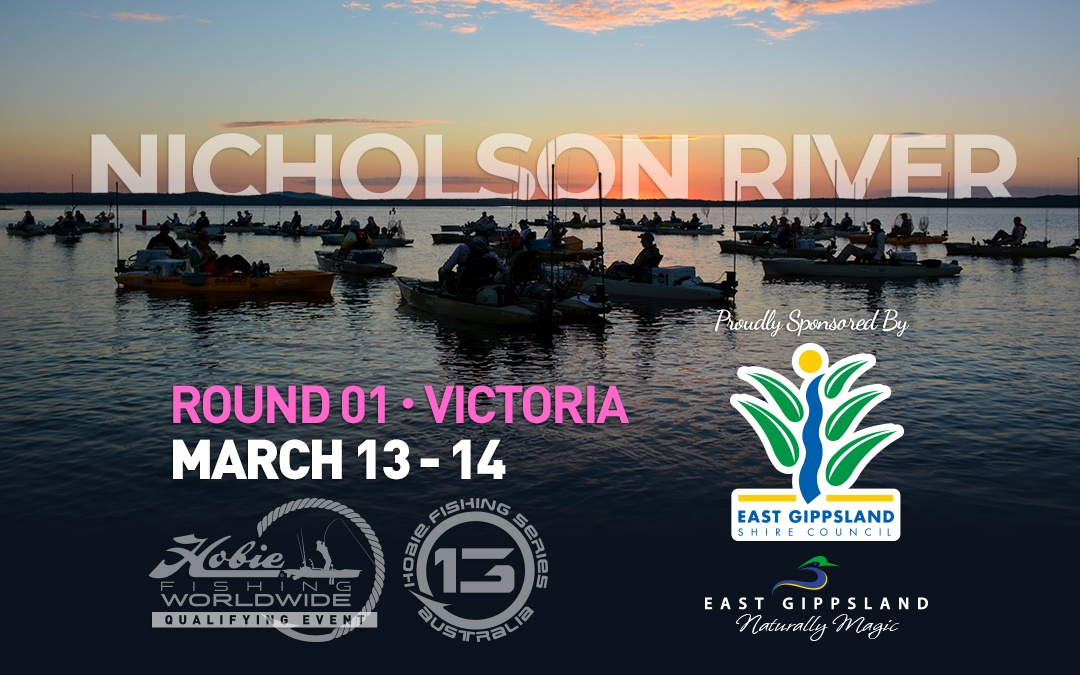 hobie fishing series 13 round 01 nicholson river 2021