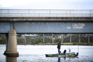 hobie fishing series 13 round 1 nicholson river 50